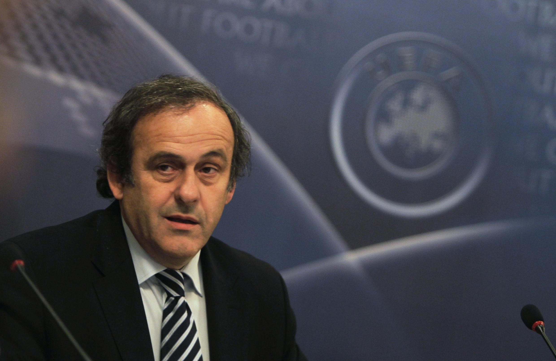 Rais wa shirikisho la soka la Ulaya UEFA, Michel Platini.