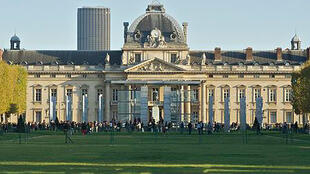 Les travaux du 17e FICA se sont tenus à l'Ecole Militaire à Paris (vue du Champ-de-Mars) .