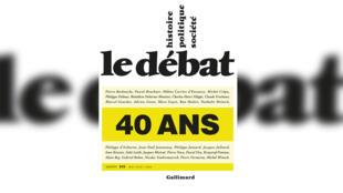 """""""Le Débat, 40 ans"""", numéro 210, mai-août 2020."""