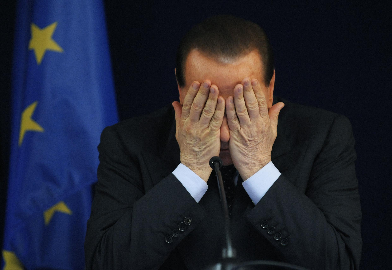 Глава госсовета Италии Сильвио Берлускони