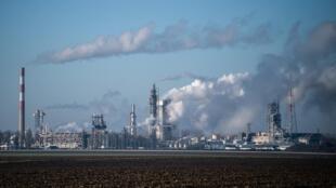 L'usine chimique de la société Borealis Chimie SAS à Mormant, le 6 janvier 2020.