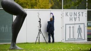 Na manhã desta terça-feira (16) sete obras de arte foram roubadas do museu Kunsthal em Roterdã.