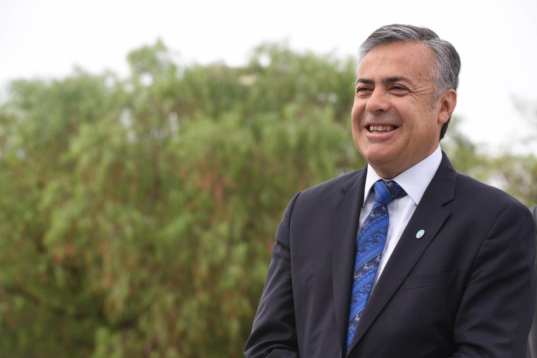Governador de Mendoza, Alfredo Cornejo.
