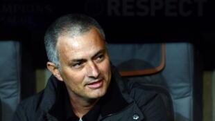 José Mourinho, vencedor de quatro campeonatos diferentes.