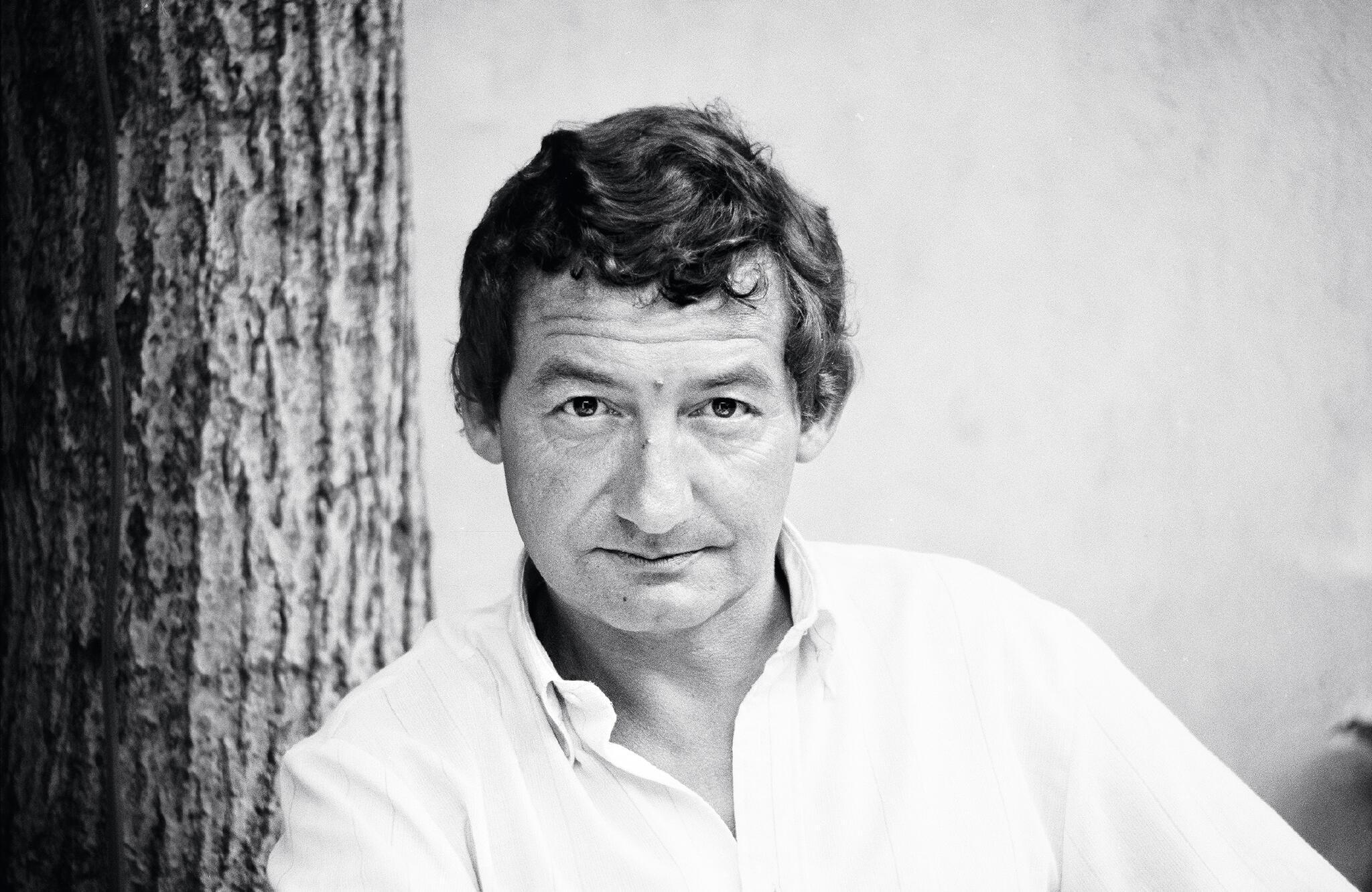 Portrait de Pierre Desproges.