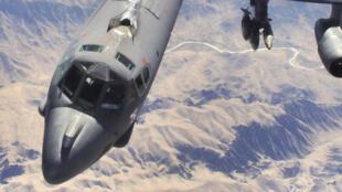 Một oanh tạc cơ B-52 hoạt động tại Afghanistan.