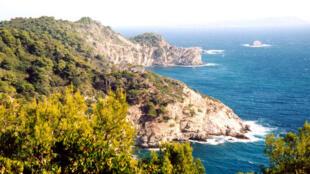 The tiny island of Porquerolles