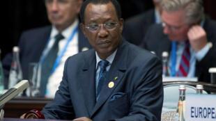 Au Tchad, le projet de nouvelle Constitution acte le passage à un régime présidentiel intégral (ici le président Idriss Déby).