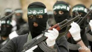 Боевики движения ХАМАС