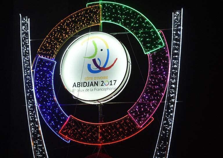 Jogos da Francofonia em Abidjan, na Costa do Marfim.