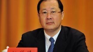 图为重庆市委副书记任雪锋生前会议照