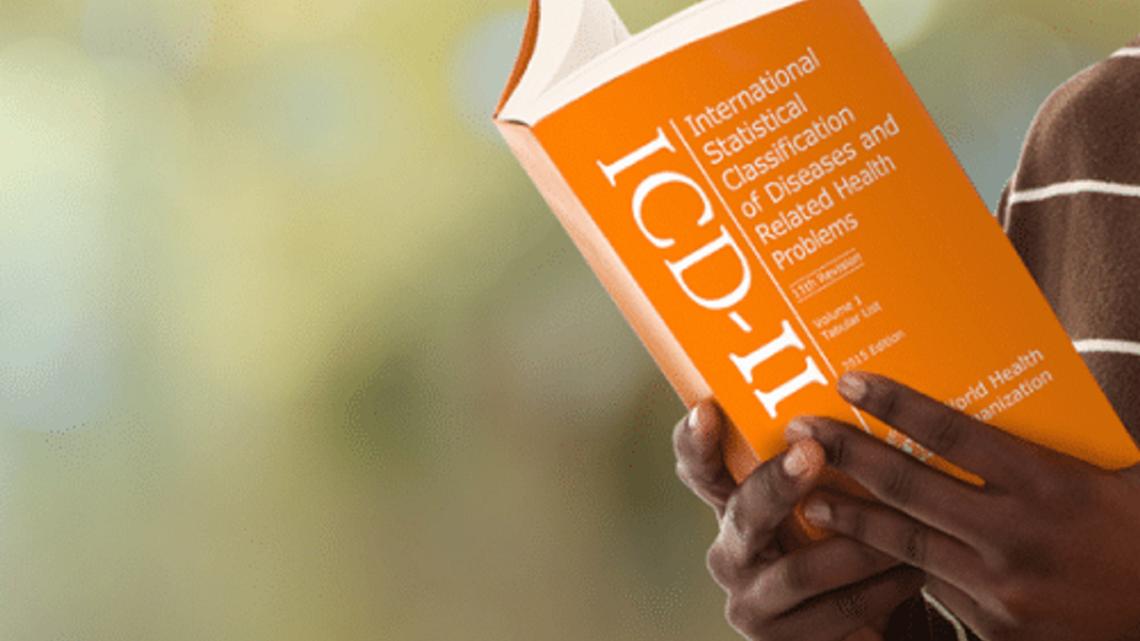 La nueva clasificacion internacional de enfermedades está disponible en 43 idiomas.