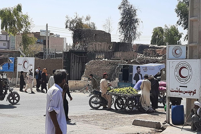 Los talibanes capturaron el viernes una primera capital provincial, Zaranj, en el sudoeste de Afganistán