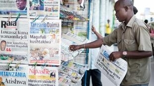 Depuis l'élection du président Magufuli en 2015, RSF affirme «qu'aucun des 180 pays classés par l'organisation n'a connu une telle dégradation de sa situation en matière de liberté de la presse». (image d'illustration)