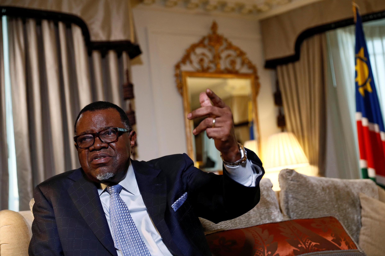 Shugaban kasar Namibia Hage Geingob