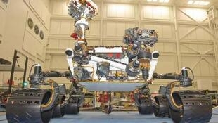 """美國""""好奇""""號火星探測器"""