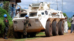 Des soldats de la Monusco, le 23 octobre 2014 à Béni en RDC (photo d'illustration).
