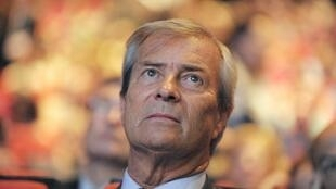 Vincent Bolloré, en juin 2014. Les soupçons sur les activités africaines du milliardaire de 66 ans ont aussi été nourris par les plaintes d'un de ses anciens associés, le Franco-Espagnol Jacques Dupuydauby.
