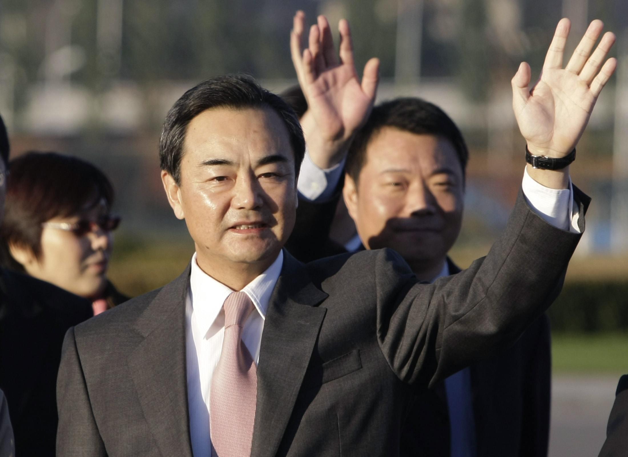 Ngoại trưởng Trung Quốc Vương Nghị (REUTERS /Jason Lee)