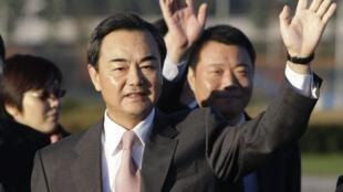 Tân Ngoại trưởng Trung Quốc Vương Nghị (ảnh chụp ngày 03/11/2008)