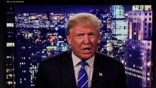 Trump presentando excusas en un video, 8 de octubre 2016.