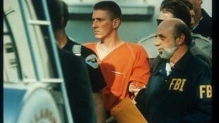 Timothy McVeigh, auteur de l'attentat d'Oklahoma City (Etats-Unis) le 19 avril 1995.