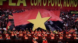 Imagem do último Congresso do MPLA, que comemora este 10 de dezembro de 2016, os seus 60 anos
