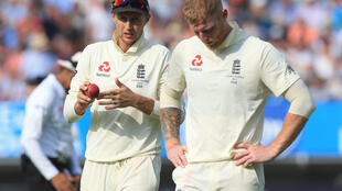England captain Joe Root (left) and all-rounder Ben Stokes