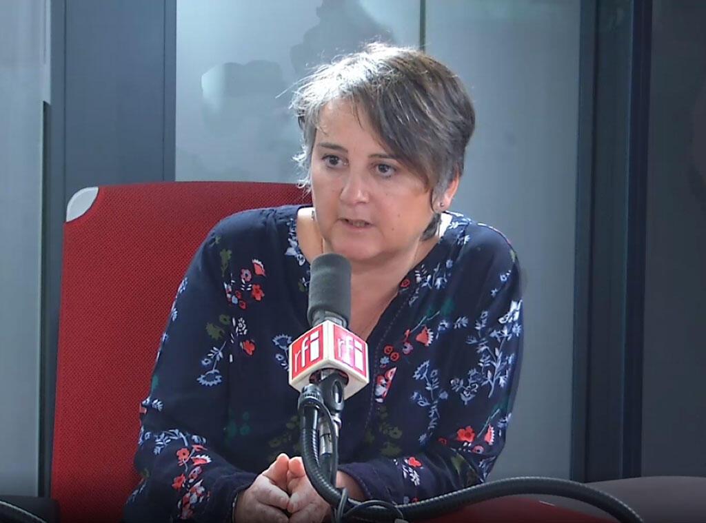 Céline Verzeletti, secrétaire confédérale de la CGT sur RFI, le 9 décembre 2019.