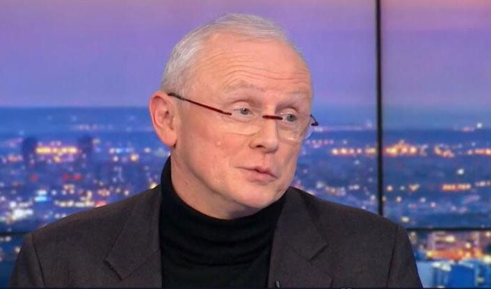 Patrick Ramaël, sur le plateau de France 3, le mardi 27 janvier 2015.