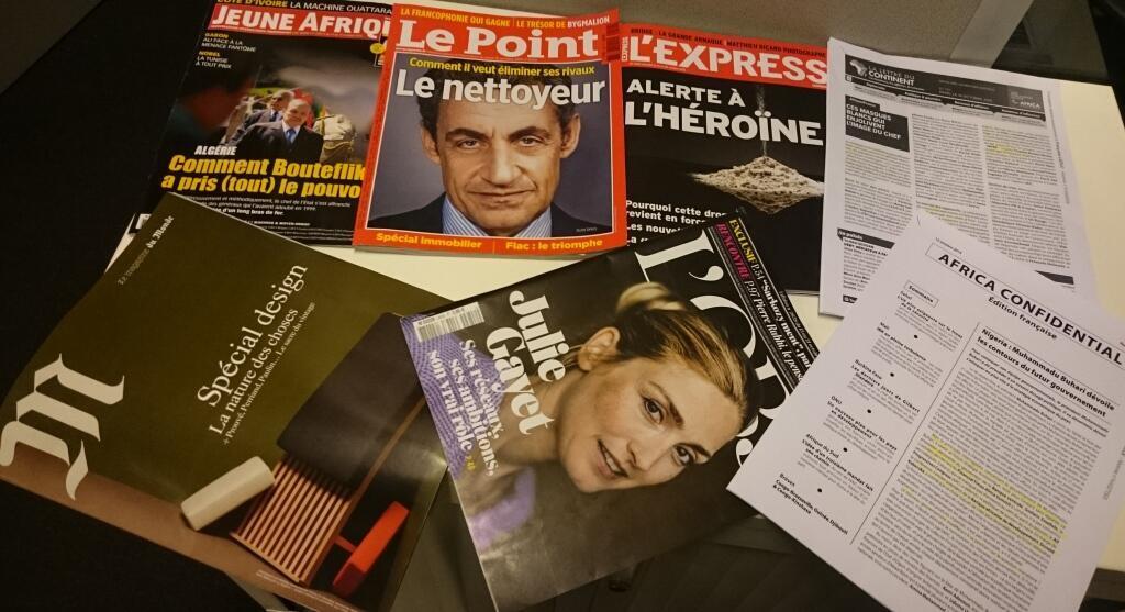 Semanários  franceses