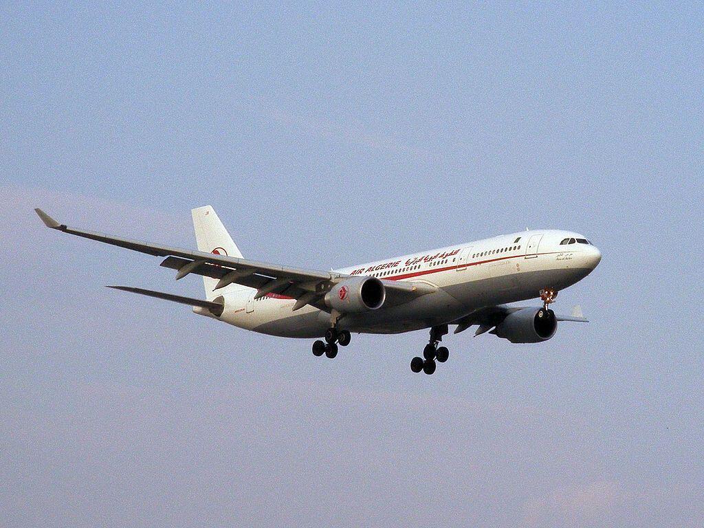 An Air Algérie plane