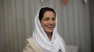 Nasrin Sotoudeh, le 18 septembre 2013.
