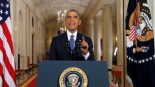 Le président Obama a annoncé sa réforme de l'immigration le 20 novembre 2014.