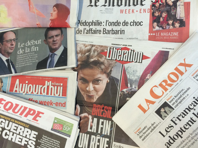 Diários franceses 01.04.2016