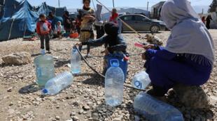 'Yan gudun hijirar Syria a Lebanon na cikin talauci