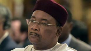 Le président de la Cédéao Mahamadou Issoufou.