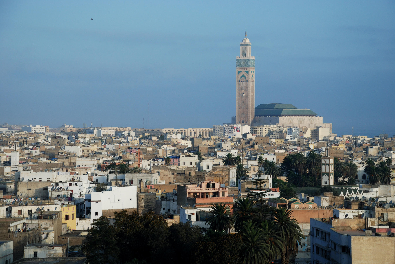 Vue de Casablanca.