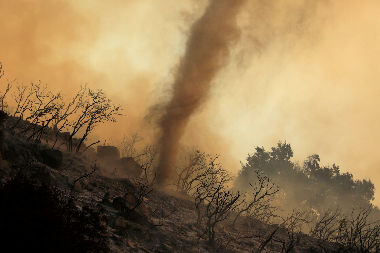 Los incendios en California se agravan debido al cambio climático.