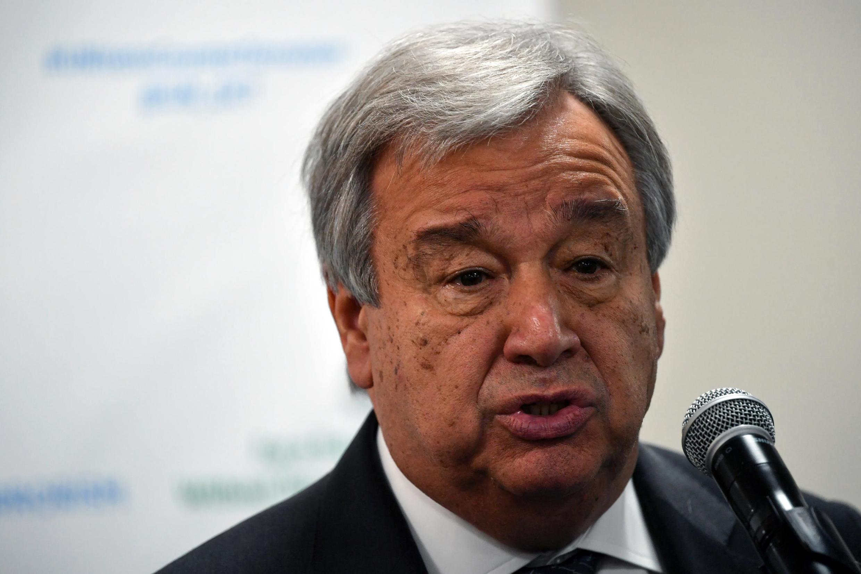 Antonio Guterres, babban Sakataren Majalisar Dinkin Duniya