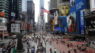 Times Square day after botched bomb attack