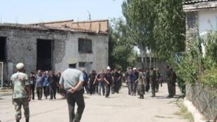 Une prison au Kirghizistan.