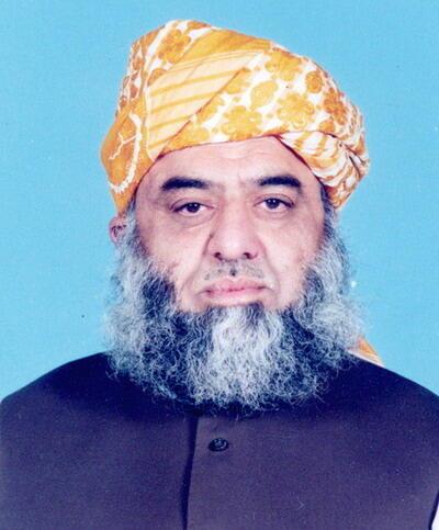 JUI-F leader Mullah Fazal ur-Rehman