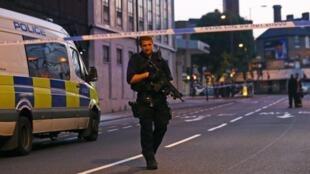 An kai wa musulmi hari ne a kusa da masallacin Finsbury arewacin London