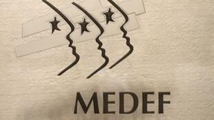 Le logo du Medef. (Image d'illustration)