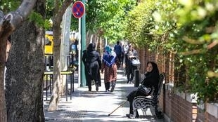 Photo prise dans une rue de la capitale iranienne, Téhéran, le 28 mai 2019.