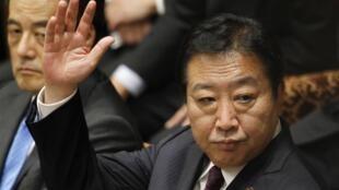 Le Premier ministre japonais, Yoshihiko Noda, le 12 novembre 2012 à Tokyo.