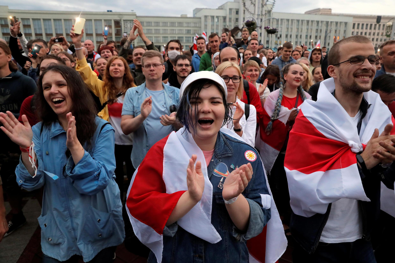 Bélarus - Manifestation - le 25 août 2020