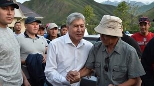 Бывший президент Алмазбек Атамбаев за месяц до задержания