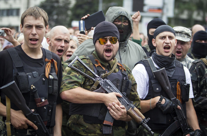 'Yan a ware masu kishin Rasha da ke yaki a Ukraine